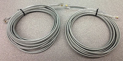 rj22 connector wiring 2 15 foot 4p4c rj22 cables cisco polycon conference phone  15 foot 4p4c rj22 cables cisco polycon