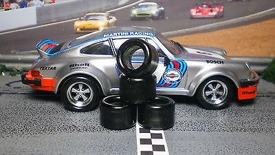 """/""""XPG/"""" URETHANE SLOT CAR TIRES 2pr PGT-21103 fit Porsche Jaguar Corvette Cobra"""