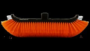 *New* Sidewinder stiff bristle brush with Fan Jets