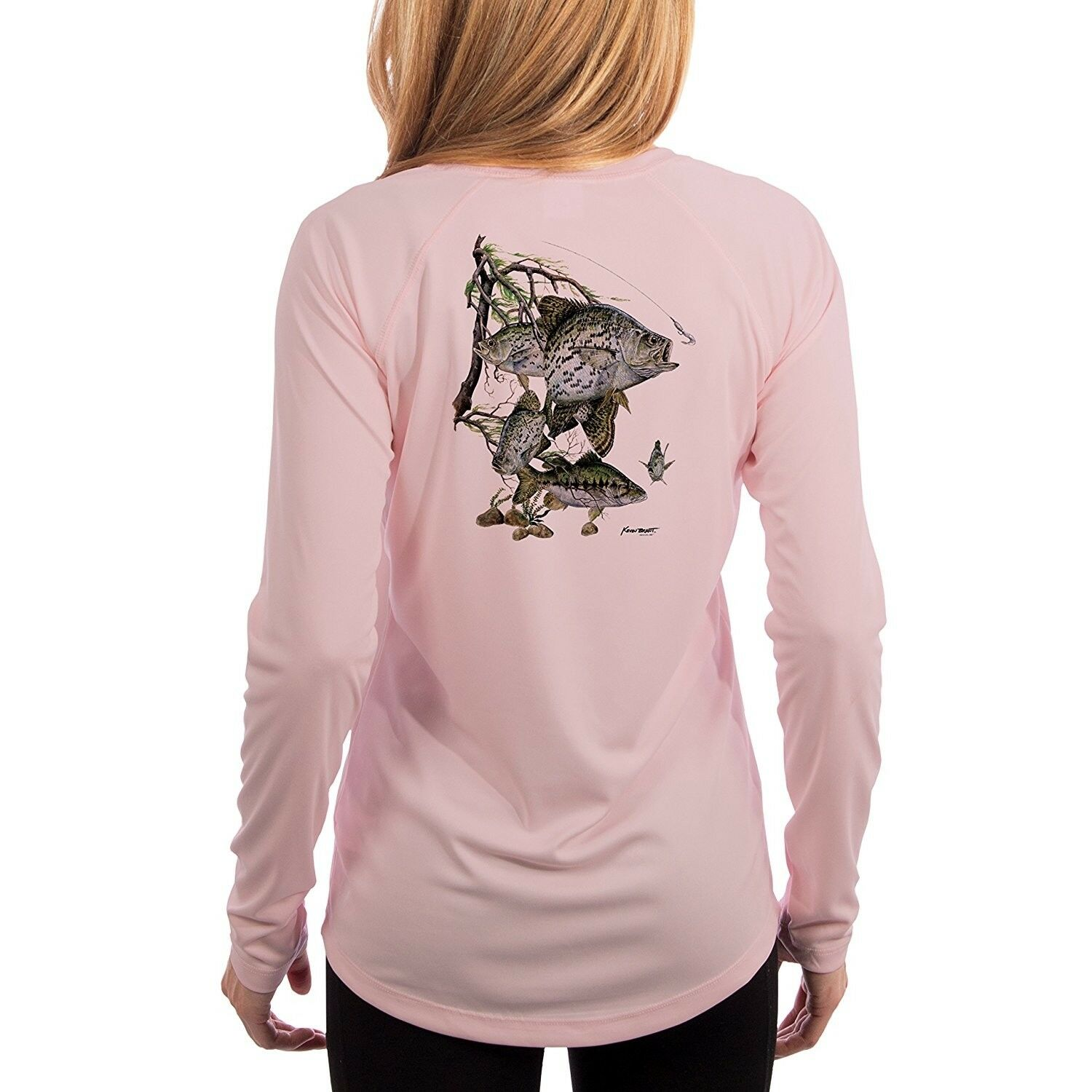 KEVIN BRANT Crappie Women's UPF 50+ Performance T-shirt