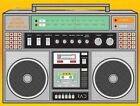 Rad Boombox Journal 9781452106533 by Chronicle Books Notebook