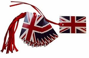 50-x-UNION-JACK-Gift-Tags-amp-Ribbon-Royal-Gift-Hamper-Xmas-Basket-Tags