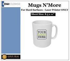 Neenah Mugs Nmore Laser Heat Transfer Paper Hard Surfaces 85 X 11 100 Sheets