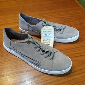 b50d5f73076 New Toms Women s size 12 Desert Taupe Deconstructed Suede Lenox ...