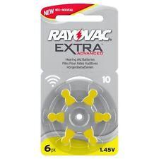 RAYOVAC Extra Mercury Free Apparecchio acustico Batterie Taglia 10. Scatola di 60 cellule