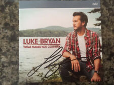 Luke Bryan What Makes You Country CD With Signed / Autographed Booklet - out