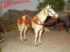 Big Jim - BARBIE - Lone Ranger PFERD  SCOUT -  Horse Cheval / Marx Toys