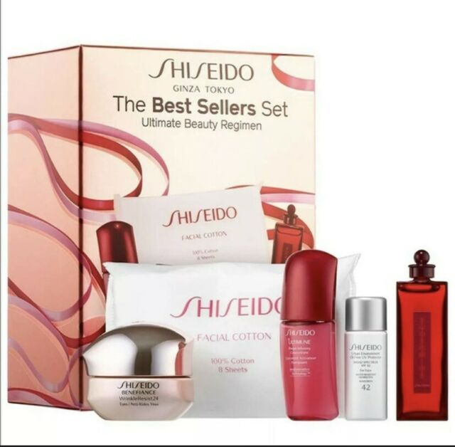 Shiseido Ginza Tokyo The Best Sellers Set Ultimate For Sale Online Ebay