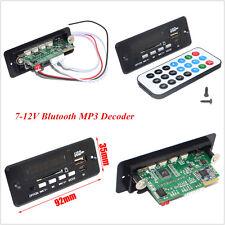 Car Handsfree Bluetooth MP3 Decoder Board With Bluetooth Module+FM Amplifier 12V