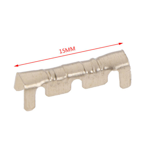 100Pcs Brass Copper 0.5-1.5mm² Crimp Electrical Connector Wire Terminal  AAG