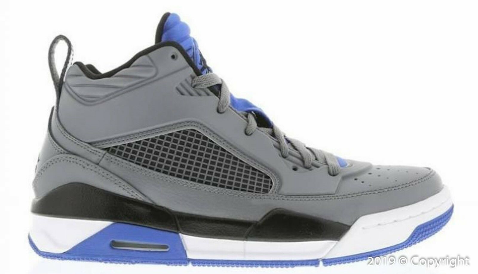 Men's Air Jordan Flight 9.5 Cool Grey Black Premium shoes