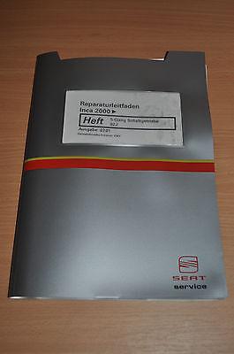 Bücher Werkstatthandbuch Reparaturleitfaden Seat Inca 2000 5-gang Schaltgetriebe 02j Auswahlmaterialien
