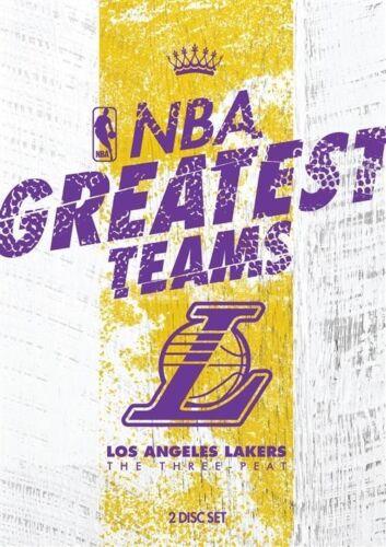 1 of 1 - NBA-Greatest Teams-Los Angeles Lakers-The Three-Peat (DVD, 2014, 2-Disc Set-R4