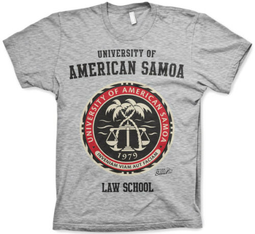 Better Call Saul American Samoa Law T-Shirt T-Shirt Cotton Officially Licensed