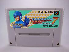 Megaman 7-Rockman 7-SNES - (NTSC-japón) - Super famicon - #79