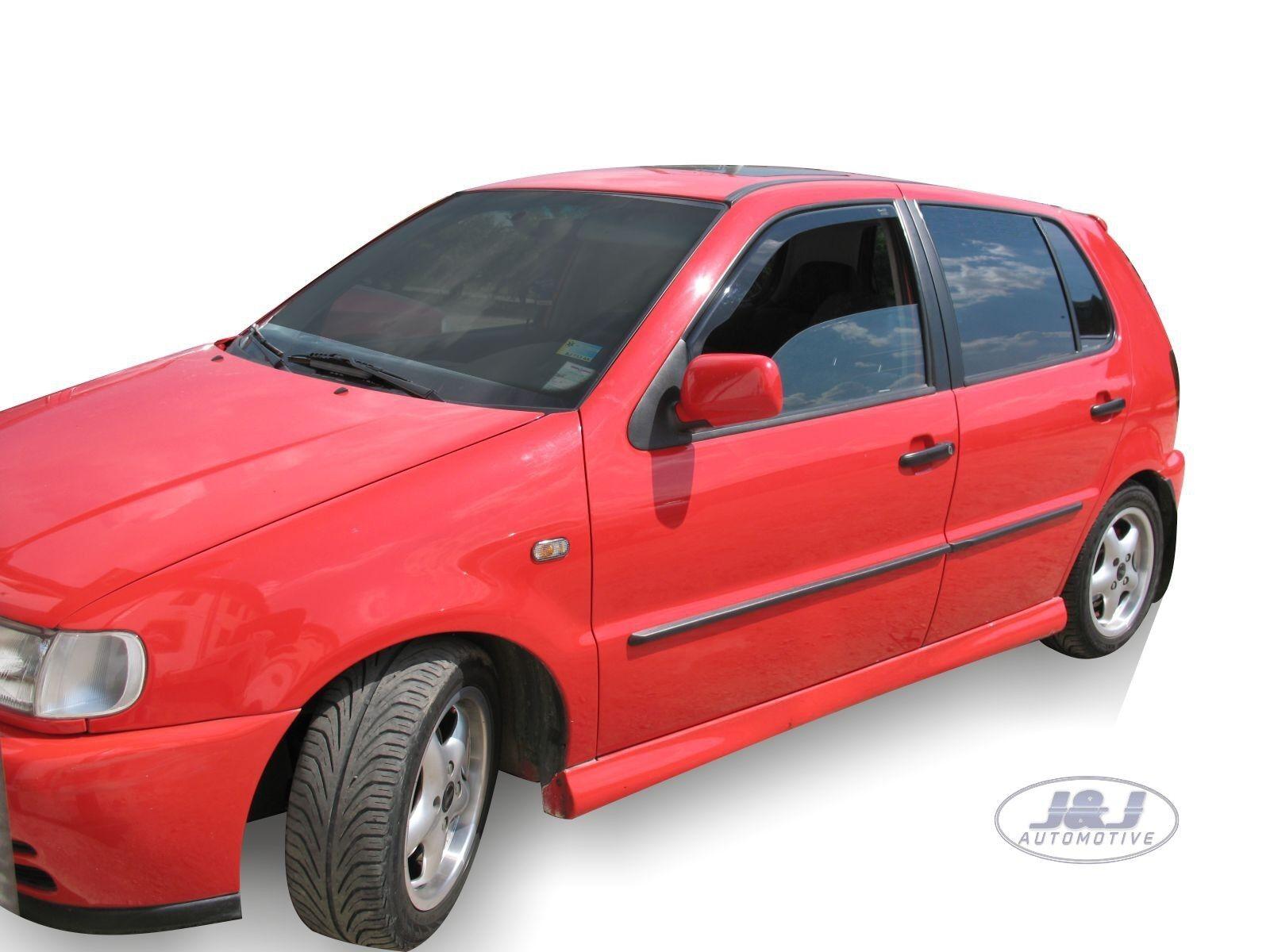 VW POLO 5 door 1994-2002  Front wind deflectors 2pc Internal Fit TINTED HEKO