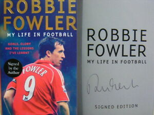 Signed-Book-My-Life-in-Football-by-Robbie-Fowler-Hdbk-1st-Edition-LFC-Liverpool