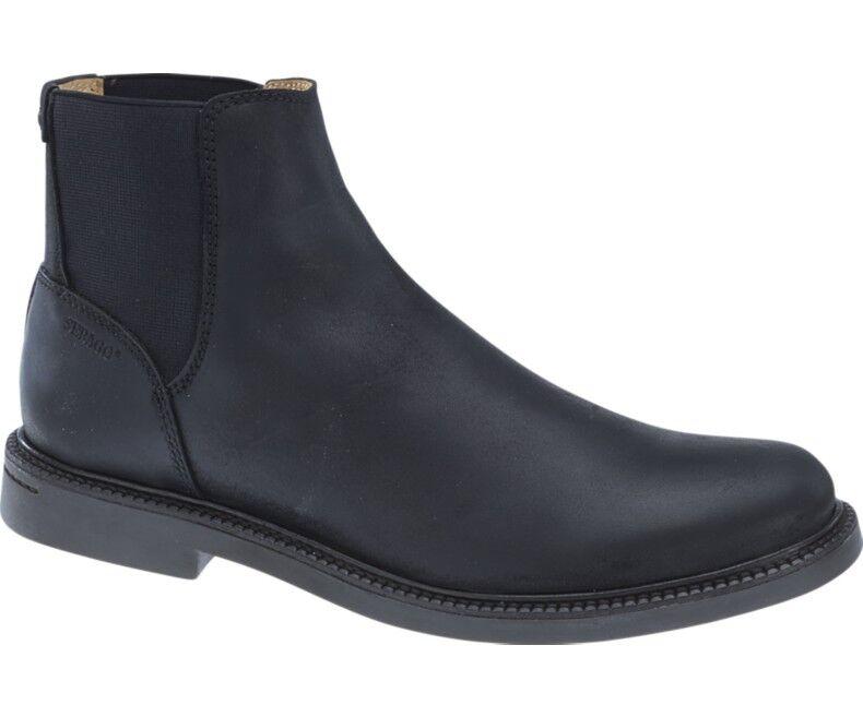 Sebago Turner Chelsea B810243 Impermeabile Uomo Donna Boot B810243 Chelsea Cuoio Impermeabile Nero Nuovo f8f322