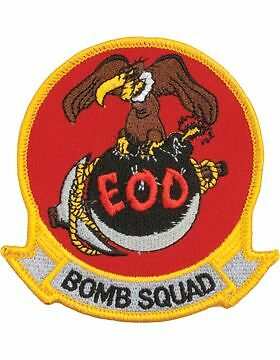"""N-503 Explosive Ordnance Disposal Bomb Squad with Buzzard Patch 4/"""""""