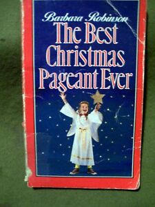 image is loading the best christmas pageant ever by barbara robinson - The Best Christmas Pageant Ever Book