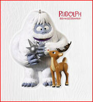 2010 Hallmark Rudolph Ornament A Star Is Born Bumble Abominable Snow Monster
