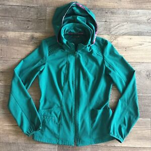 HeartSoul XS Scrub Jacket Top with Removable Hood - Hunter ...
