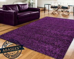 Extra Large Purple Gy Rug Rugs Carpet New Modern Soft Thick