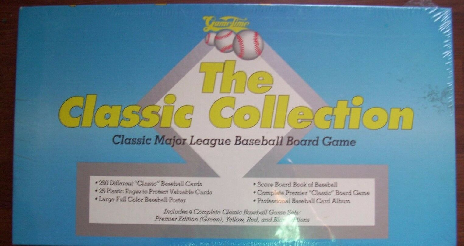 Game Time the classic collection classique Major League Baseball Board Game