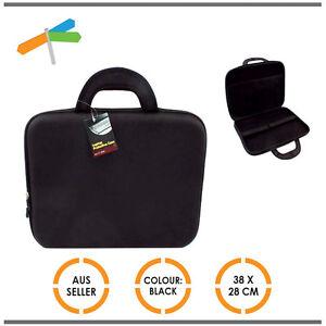 New-Notebook-Case-Laptops-Molded-Netbook-Ipod-Hard-Shell-Carry-Travel-Bag-Black