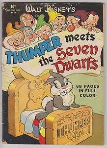 L1947: Four Color #19, Thumper, Seven Dwarfs, G+ Condition