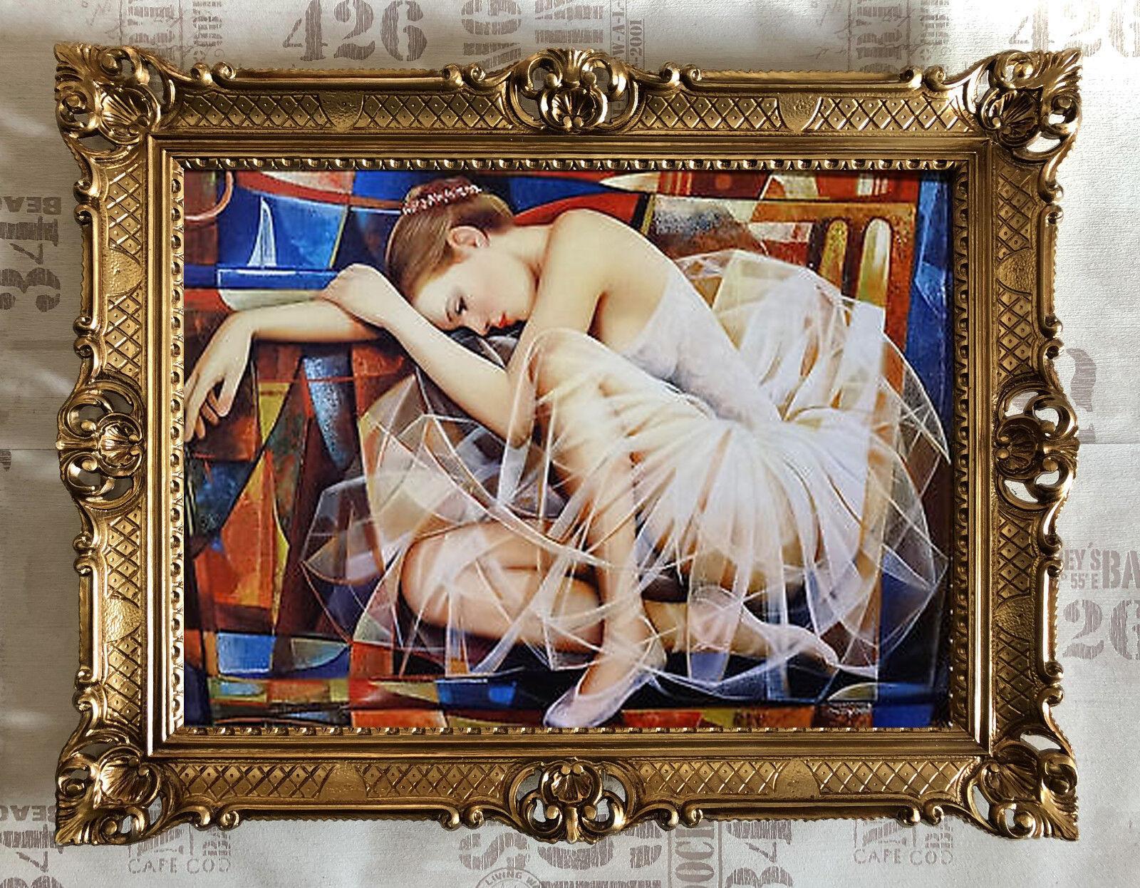 Ballerina Bild Bilder Repro produktion Modern & zeitgenössisch Ballerinas 70x90