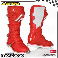 Stivali Acerbis X pro V. colore Arancionero Cross Enduro 43