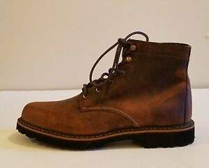 b73ffb8b317 Details about Wolverine 1000 Mile Duvall Men Round Toe Leather Brown Boot  sz 11.5D