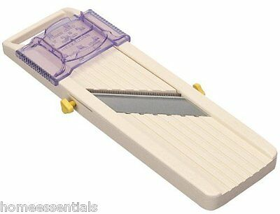 Professional Benriner Japanese Madolin Adjustable Slicer 3 Blades Easy Clean