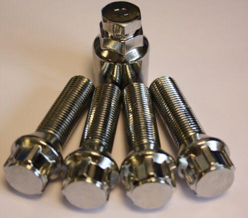 M14X1.5 45 mm a lungo raggio esteso perni di bloccaggio adattarsi MERCEDES CLASSE E W211 S211