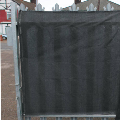98/% Shade Netting Grey 2m x 20m and for Privacy Screening Windbreak Garden Fence