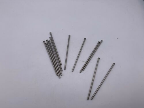 """Royal .074/""""X 2-1//2/""""  Long Bevel Headed High Speed Steel Punches Lot of 12"""