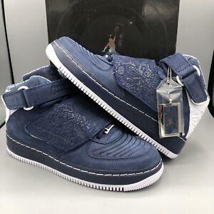 Afj White Silver 411 331823 7 Nike Air Navy Force Taglia Midnight Jordan 20 DI9H2E