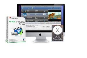 AnyMP4 Audio Converter for Mac, convert any audio MP3, WAV