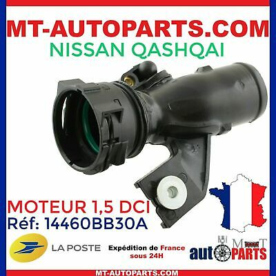 Durite de turbo intercooler pour Nissan Qashqai 1,5 l Dci 14460BB30A 14460BB31A