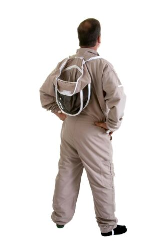 Size 4XL Beekeepers Latte Lightweight Fencing Suit