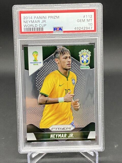 2014 Panini Prizm World Cup Neymar Jr #112 PSA 10 Gem Mint First Prizm Card