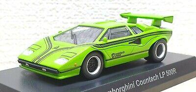 1//64 Kyosho LAMBORGHINI COUNTACH LP 500R ORANGE diecast car model