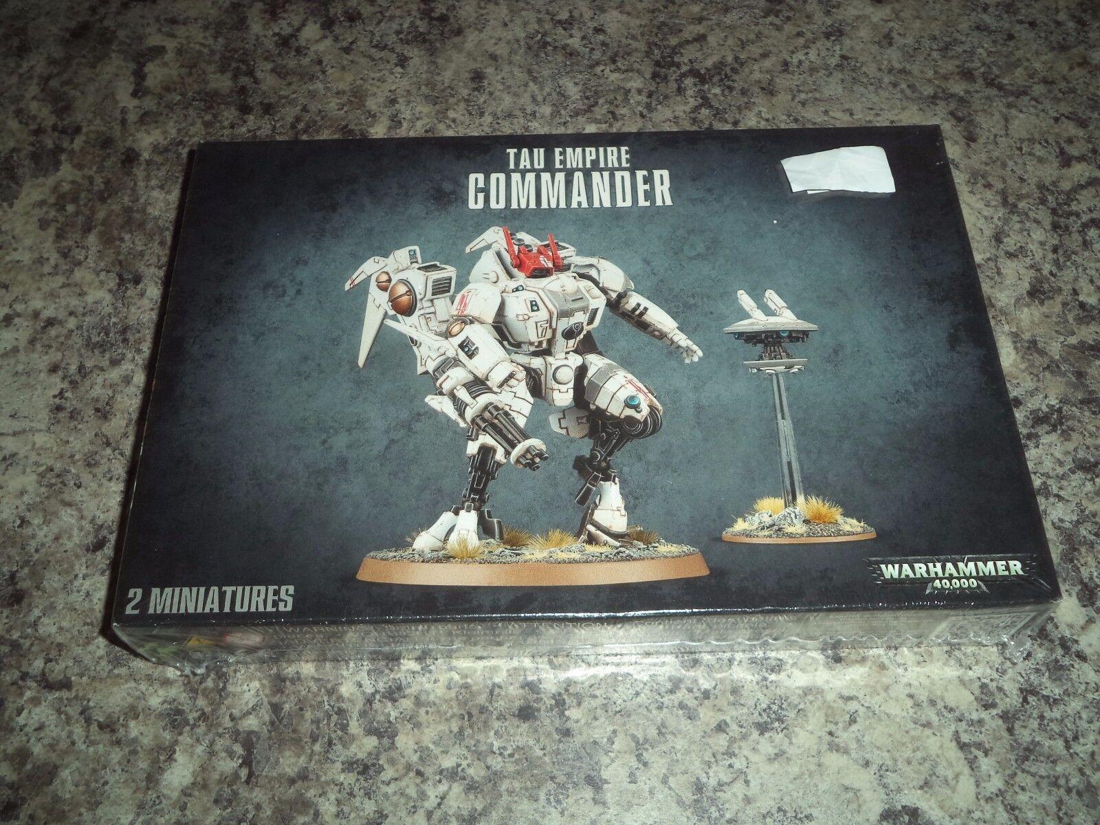 Tau Empire Commander - Warhammer 40k 40,000 Games Workshop Model New