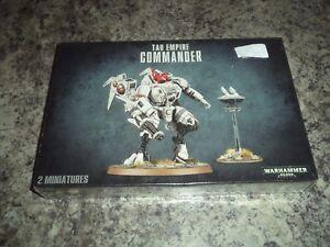 Tau Empire Commander - Warhammer 40k 40,000 Games Workshop Model New!