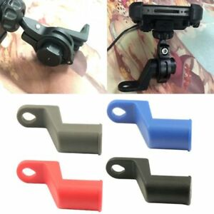 Motorcycle Rearview Mirror Phone GPS Handlebar USB Charger Holder Bracket QK