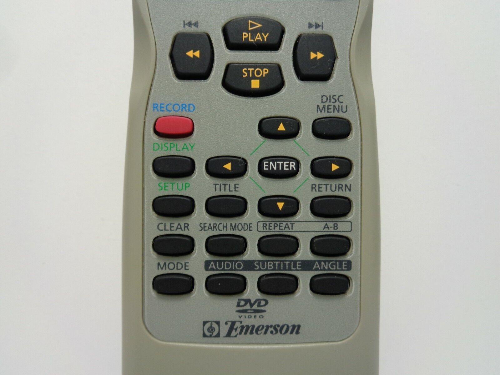 Emerson NE223UD Factory Original Tv/dvd/vcr Combo Remote Ewc19t4 Cetd204