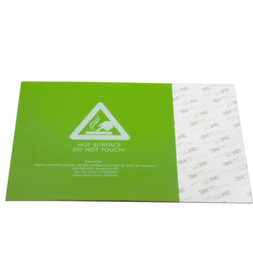 5Pcs Green//Blue Color Frosted Heat Bed Sheet 3D Printer 220*220//300*300mm Parts