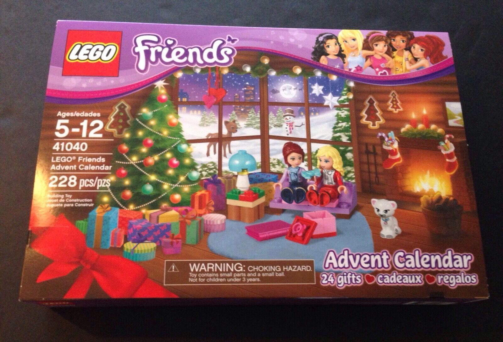 NISB New Sealed 2014 Lego Friends Advent Calendar 41040