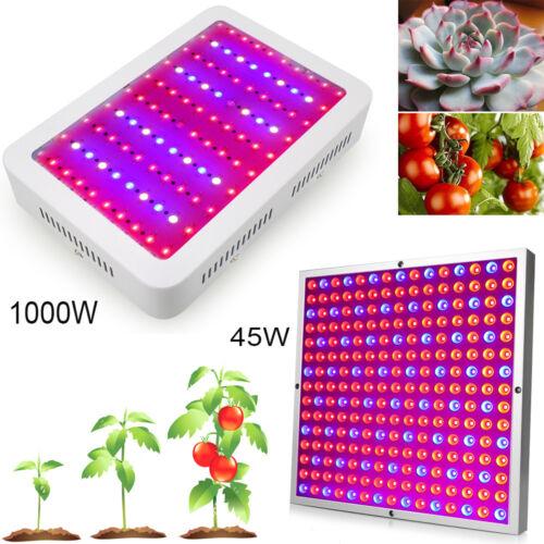 1000W 45W LED Grow Light Full Spectrum For Indoor Greenhouse Grow Tent Plant Veg